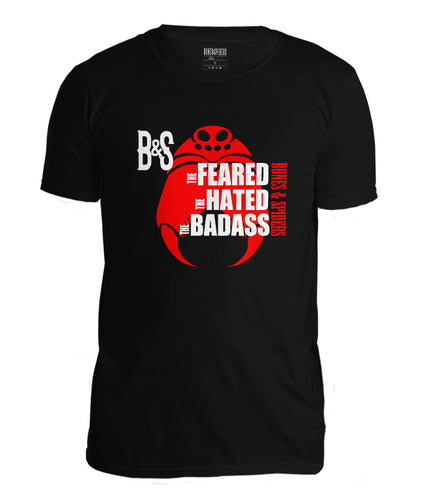 Bones and Spiders – THE BADASS – T-Shirt