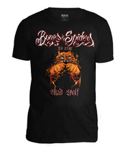 Upload the image to the Gallery Viewer, Bones & amp; Spiders - Mad Wolf t-shirt