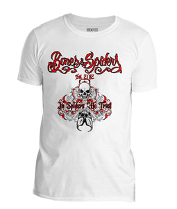 Bones & Spiders - In Spiders We Trust - T-Shirt