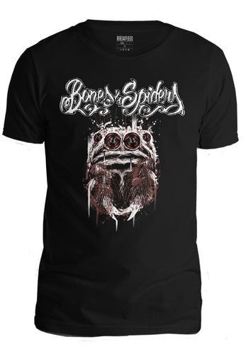 Bones and Spiders - Gorilla Jumping Spider - T-Shirt