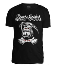 Laden Sie das Bild in den Galerie-Viewer, Bones & Spiders - The Reaper - Wolf Spider - T-Shirt