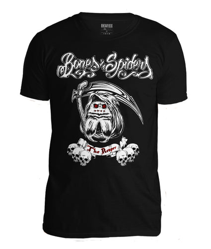 Bones & Spiders The Reaper Wolf Spider T-Shirt