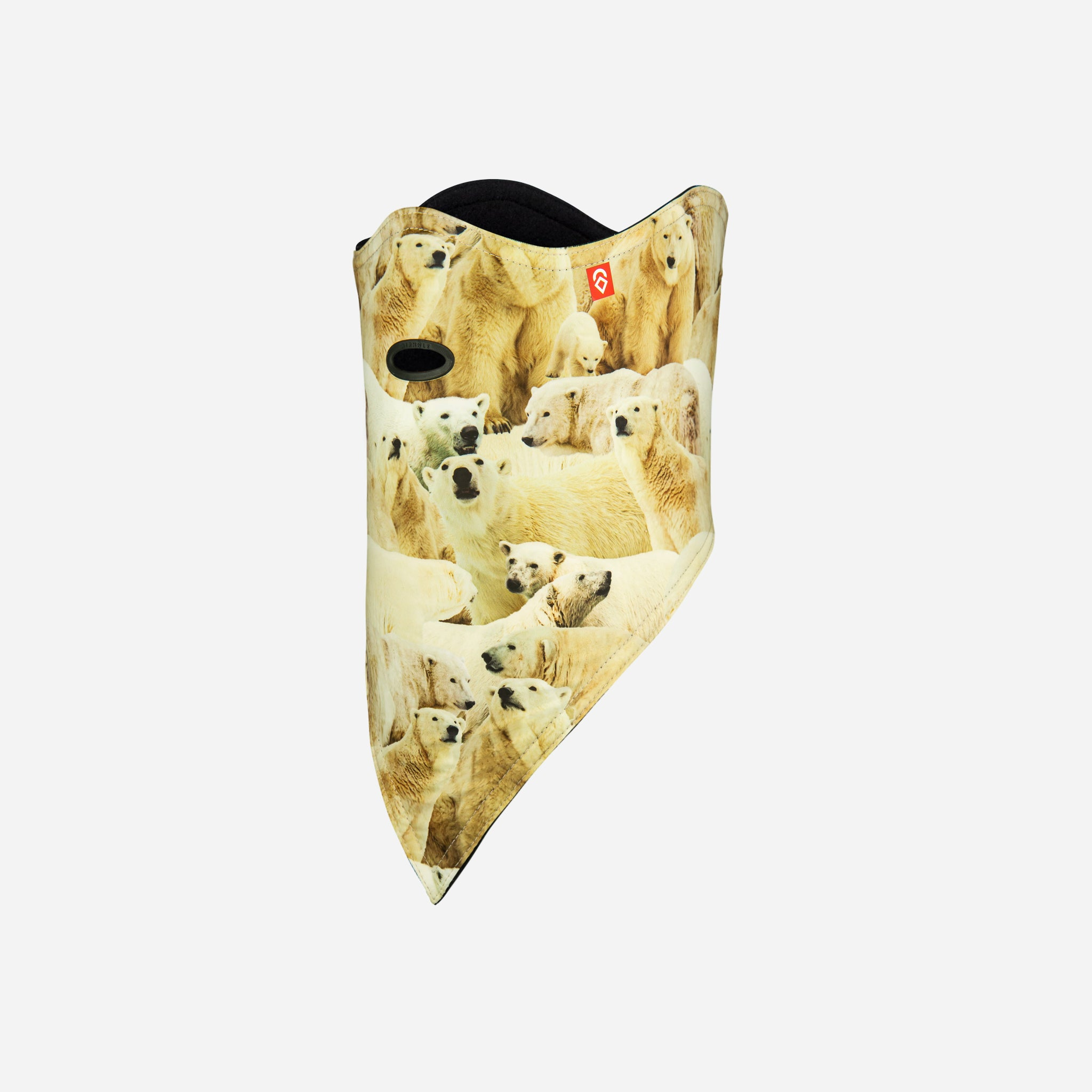 Facemask Standard 10K Softshell Polar Bears