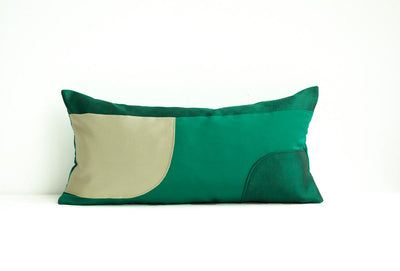 Decoupage Pillows | Emerald 03
