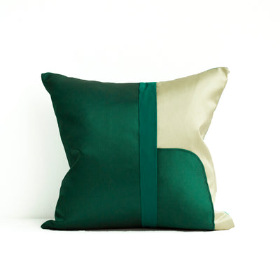 Decoupage Pillows | Emerald 01