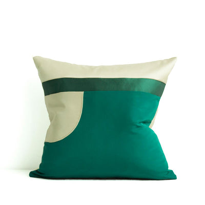 Decoupage Pillows | Emerald 02