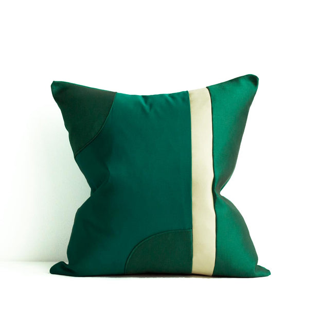Decoupage Pillows | Emerald 06