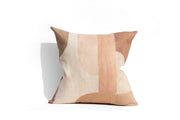 Rose Blocks | printed linen pillow