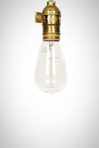 Vintage Style Edison Squirrel Cage Filament Bulb - Junkyard Lighting