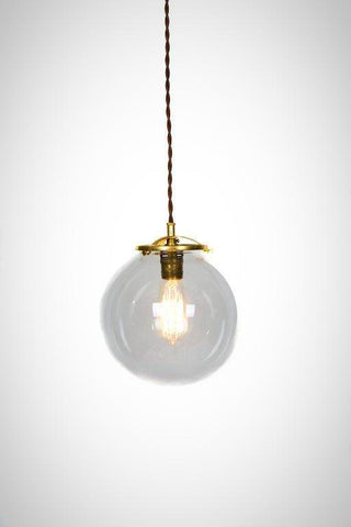 Simply Modern Vintage Style Large Globe Pendant