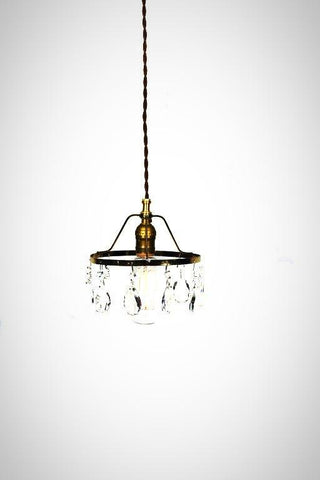 Simply Modern & Vintage Shabby Chic Crystal Pendant Light