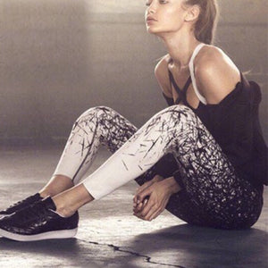Camo Fitness Girl High Rise Legging