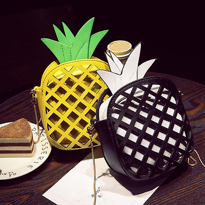 Cross Body Cute Pineapple Shoulder Bags