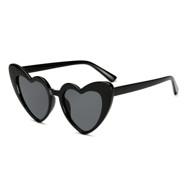 New Fashion Love Hearted Cat Eye Sunglasses