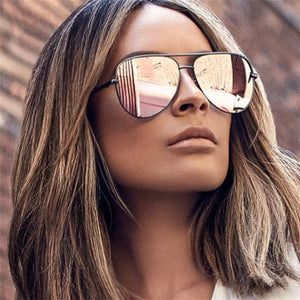 Mirror Metal Fashion Sunglasses