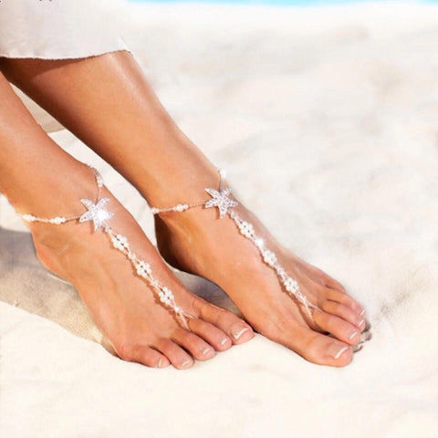 Sexy Starfish Beach Fashion Foot Jewelry