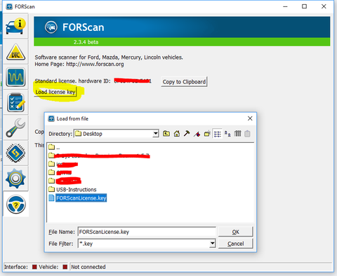 Ford | Forscan | Driver Instruction and Installation Support