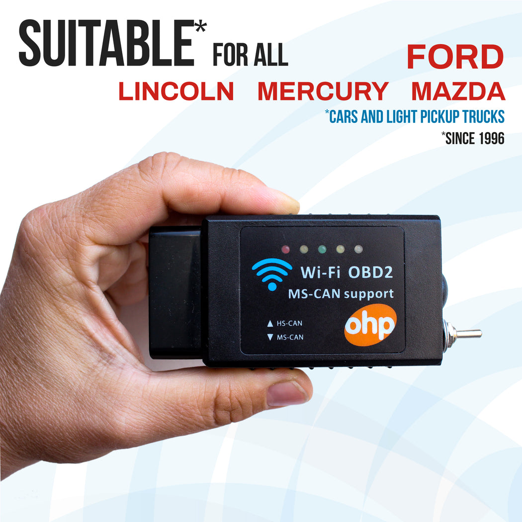OHP ELM327 FORScan OBD2 WiFi Adapter Scanner