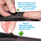 Instant Zipper - Clip-on Rits