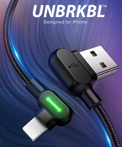 UNBRKBL™ Iphone oplaadkabel - Nooit meer een kapotte Iphone kabel