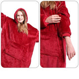 Oversized Winter Trui/Deken - Extra Warm - outdoor spullen