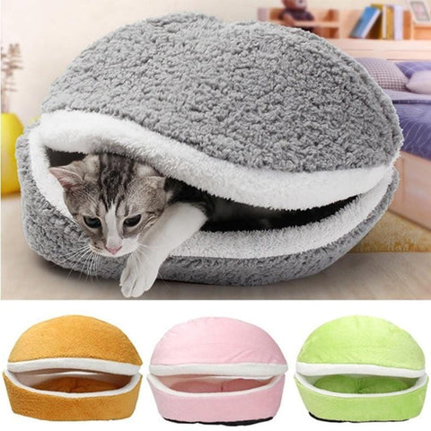 Hamburger Katten Bed