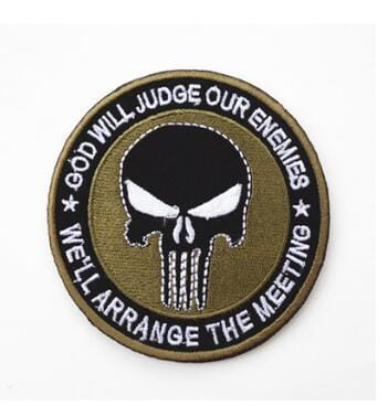 Punisher patches - outdoor spullen