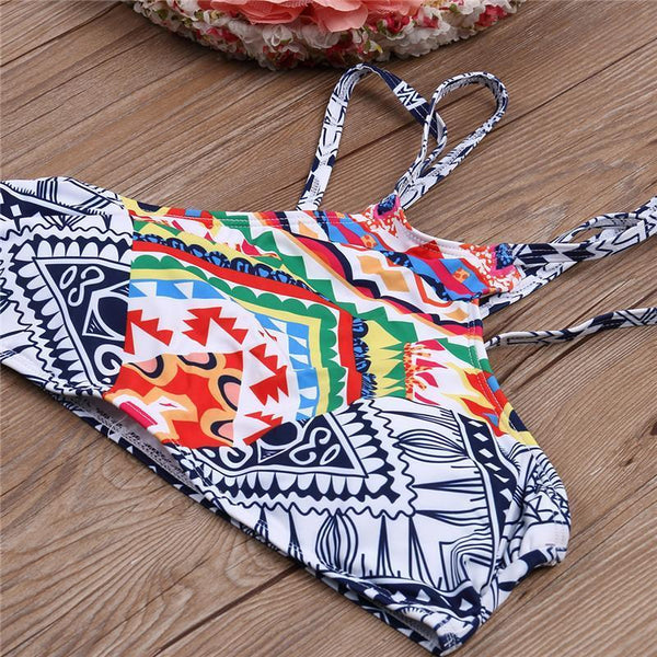 Tribal Pattern Exotic Bikini - Kate Wardrobe