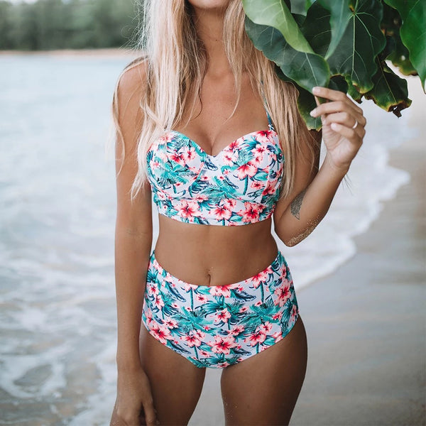Floral Madness Bikini Set - Kate Wardrobe