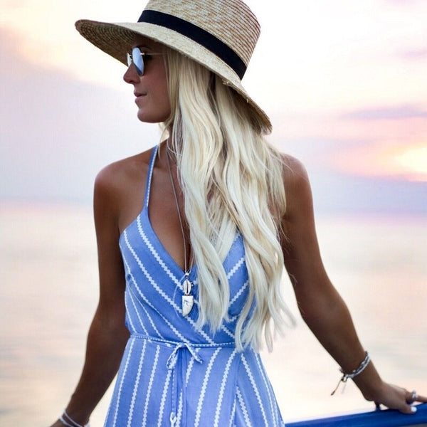 Summer Blue Dress - Kate Wardrobe