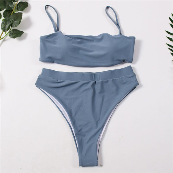 Ultra High-waist Summer Bikini - Kate Wardrobe