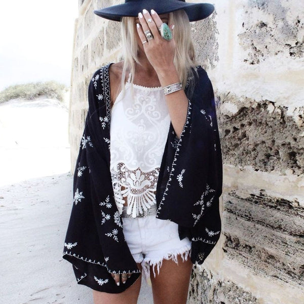 Dark Boho Chiffon Wear - Kate Wardrobe