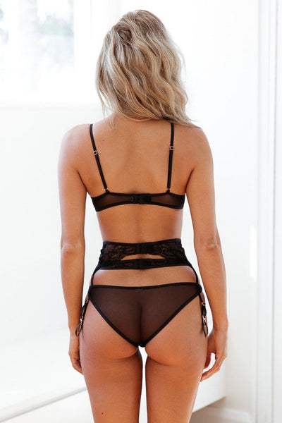 Erotic Straps Lingerie Set - Kate Wardrobe