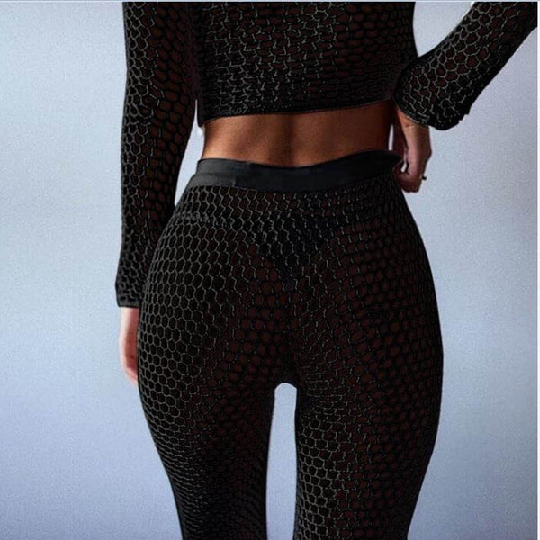 Knitted Fishnet Beach Wear - Kate Wardrobe