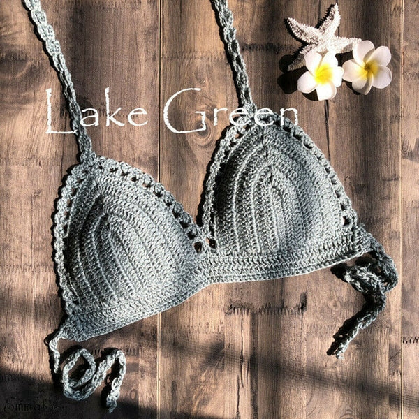 Crochet Lace Bikini Bra - Kate Wardrobe