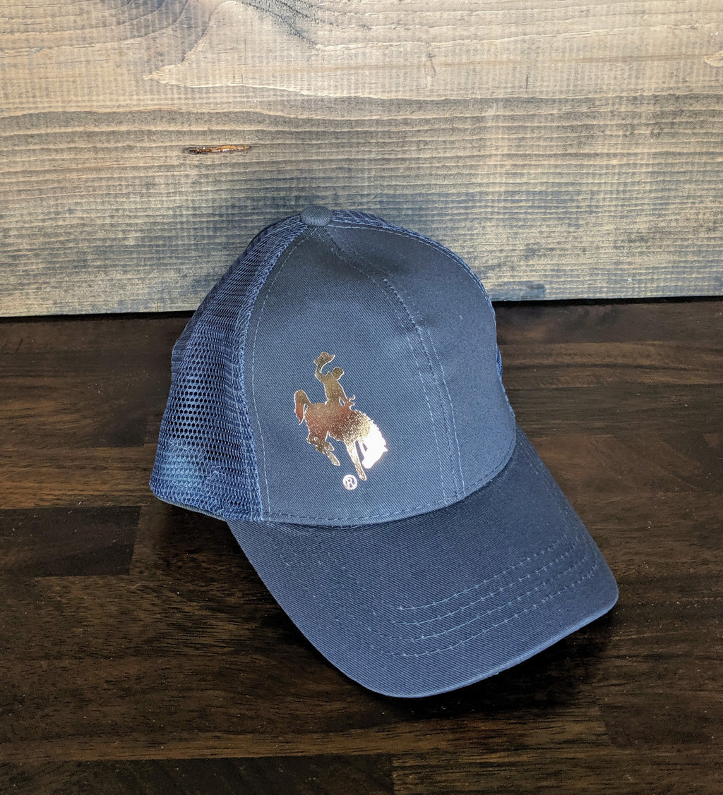 Wyoming Steamboat high pony hat