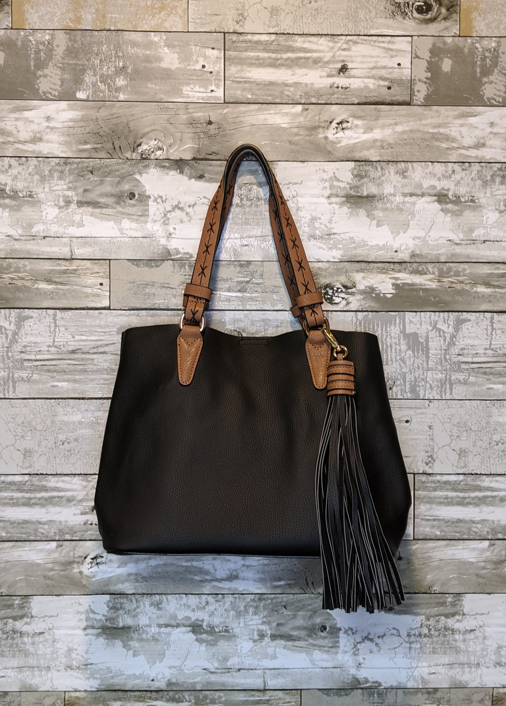 Vegan Leather 2 in 1 Bag