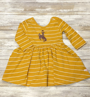 Wyoming Steamboat Twirl Dress