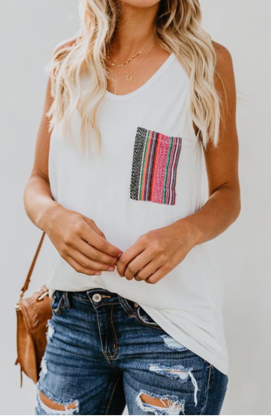 Multi Color Pocket Tank