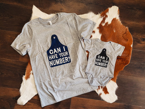 Can I Have Your Number? Tee