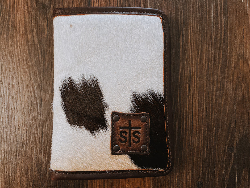 Cowhide Magnetic Wallet