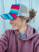 Load image into Gallery viewer, Serape High Pony Hat