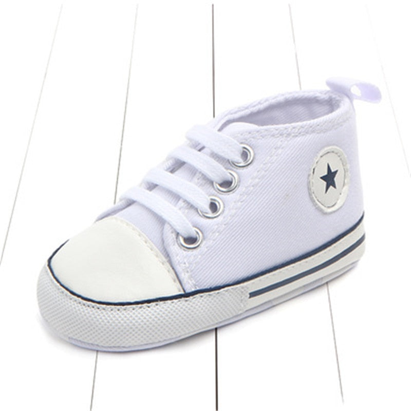 Baby Slip-on First Walkers Newborn Canvas Sneaker Infant Classic Sports Sneakers Newborn Baby Boys Girls First Walkers Shoes Mother & Kids