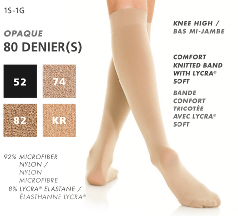 Mondor Knee-High Comfort Knitted Lycra Socks