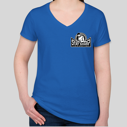 Women's Stay Sharp Logo Tee
