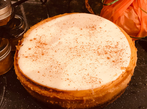 Frangelica Pumpkin Cheesecake