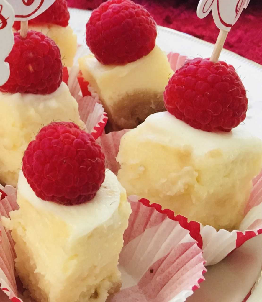 "Guilt Free, Gluten Free, Small Indulgences: 1"" Lil Cheesecake Bites"