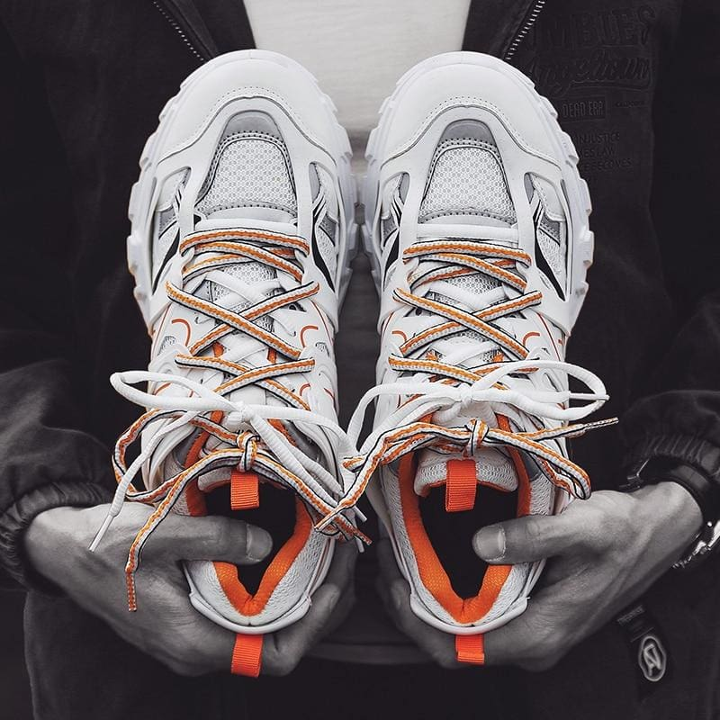 'Lace Up' Streetwear Sneakers