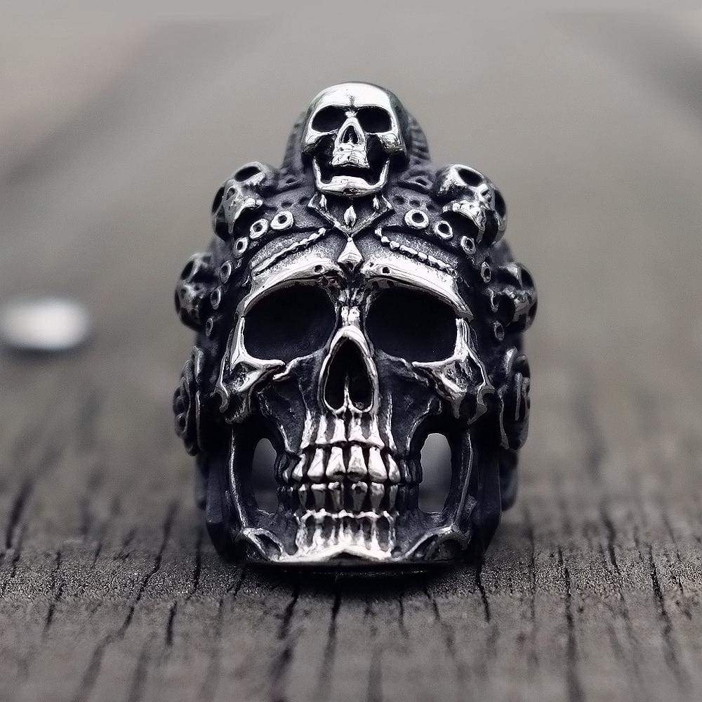Skulls Of Death Ring