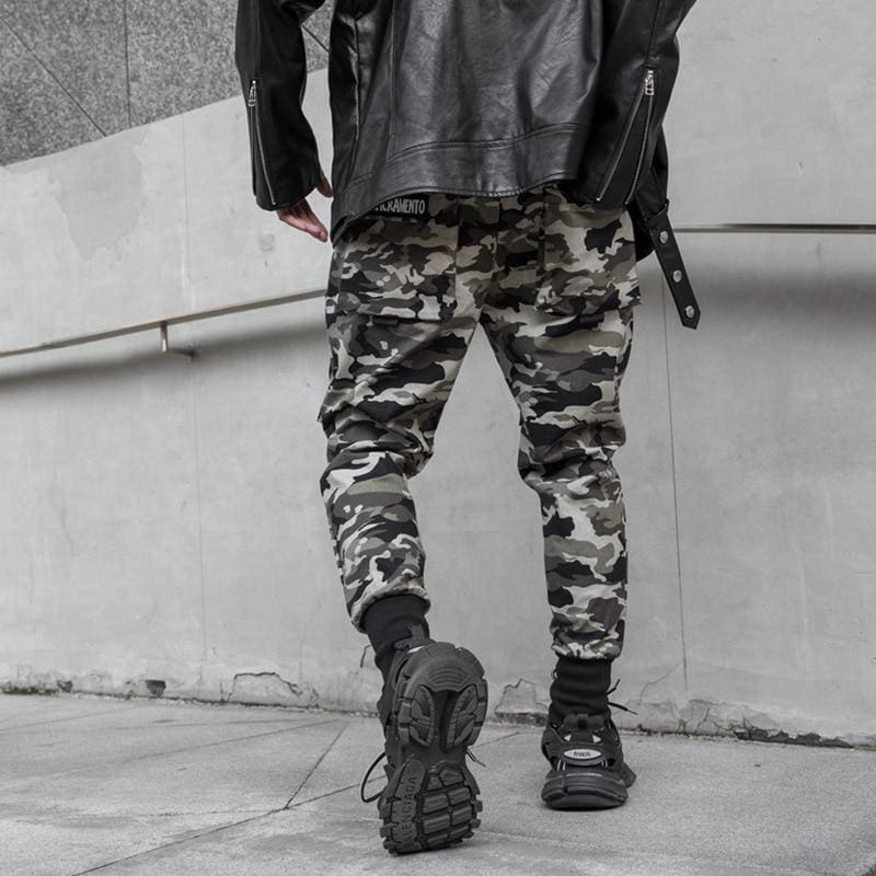 Win-Win Camouflage Jogger Pants | Swintly - 6
